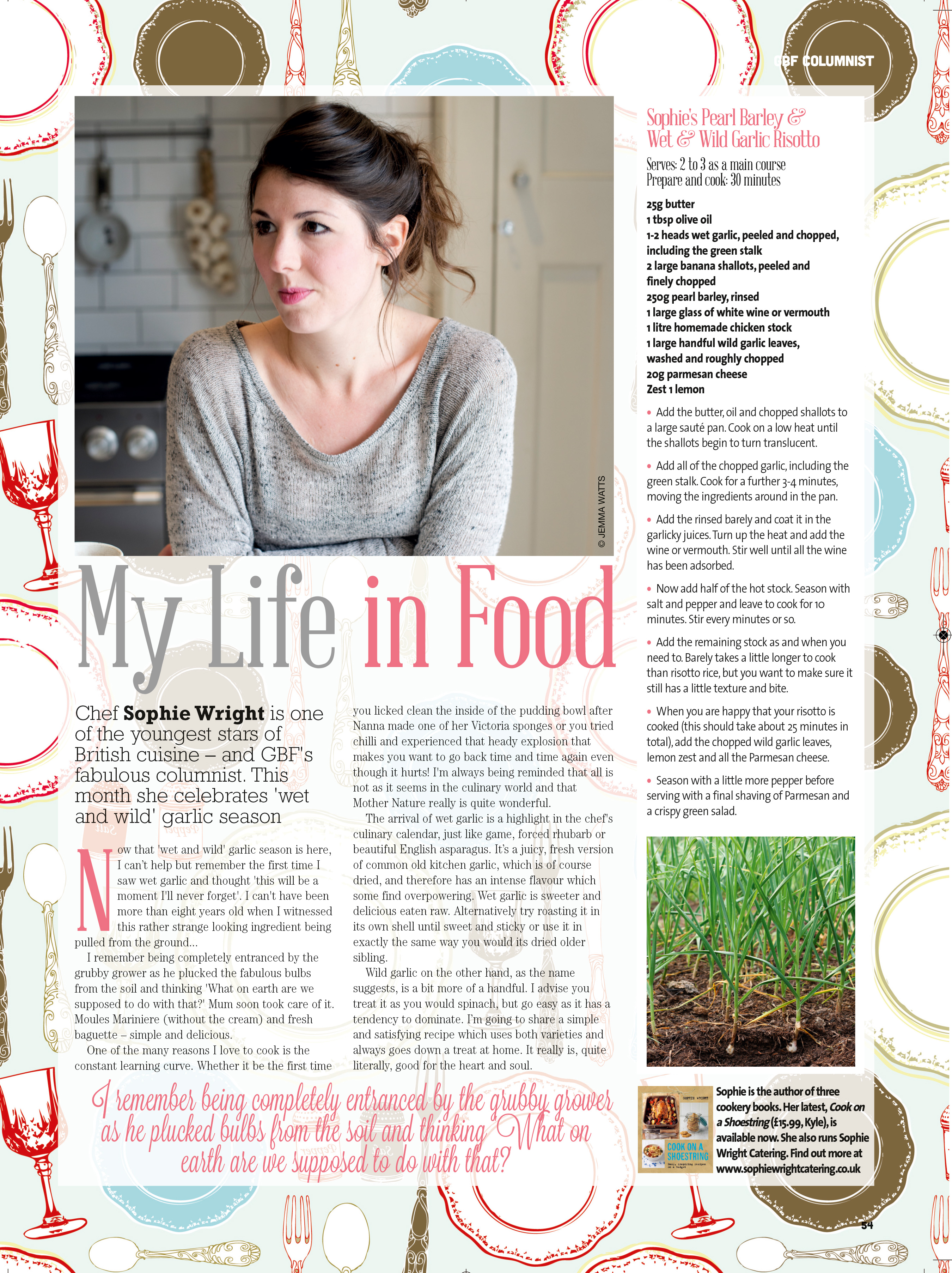 Great British Food - May Sophie Wright Catering